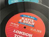 Vinyl Record Birthday Invitations Vinyl Record Wedding Invites Save the Dates Wedfest