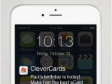 Virtual Birthday Cards iPhone Clevercards Greeting Cards Ecards for Facebook On the
