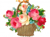 Virtual Birthday Flowers Flowers Virtual or Clipart Clipart Collection Black