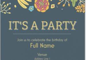 Vista Print Birthday Invitation Birthday Party Invitations From Vistaprint 40 Off Coupon