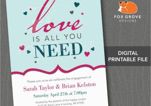Vista Print Birthday Invitation Engagement Party Invitations Engagement Party
