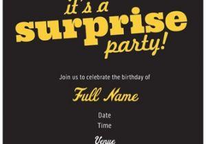 Vista Print Birthday Invitation Surprise Birthday Party Invites From Vistaprint Custom