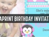 Vista Print Birthday Invitation Vistaprint Birthday Party Invites Samples Coupon