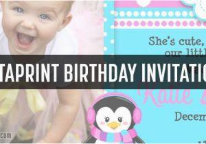Vista Print Birthday Invitation Vistaprint Birthday Party Invites Samples Coupon