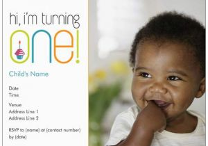 Vista Print Birthday Party Invitations 1st Invites One Photo Vistaprint Custom