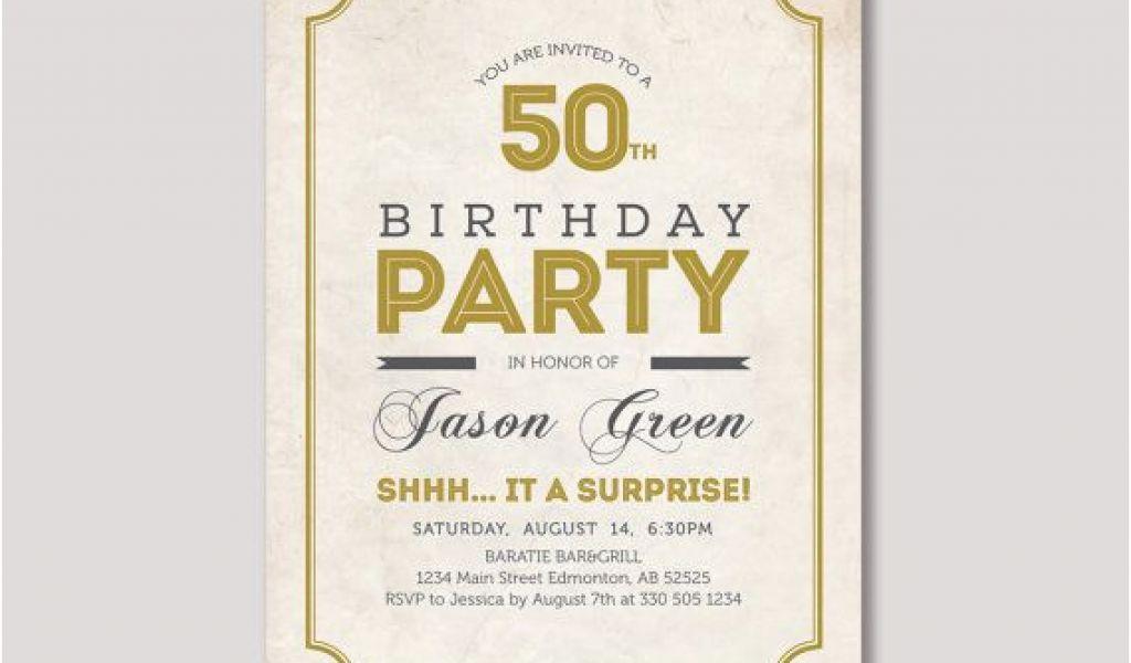94 Vistaprint Surprise Birthday Invitations