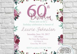 Vistaprint 80th Birthday Invitations Vintage Roses Invitation 40th 50th 60th 70th