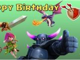 Vistaprint Happy Birthday Banner Clash Of Clans Birthday Banner Generic Digital File