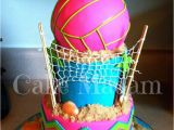 Volleyball Birthday Decorations Best 25 Volleyball Cakes Ideas On Pinterest Volleyball
