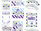Volleyball Birthday Decorations Nellie Design Volleyball Printable Party