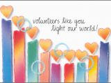 Volunteer Birthday Cards Note Cards Classic Volunteer Birthday Cards It Takes