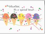 Volunteer Birthday Cards Volunteer Happy Birthday Note Cards Bl238v