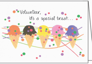 Volunteer Birthday Cards Volunteer Happy Birthday Note Cards Bl238v
