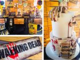 Walking Dead Birthday Decorations Kara 39 S Party Ideas Walking Dead Zombie themed Birthday