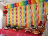 Wall Decorations for Birthday Party Get Your Craft On Elmo 39 S World Birthday Streamer Wall