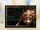 Wall Street Birthday Cards Financial Birthday Cards Envelopes