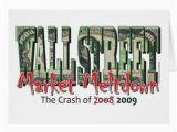 Wall Street Birthday Cards Wall Street Greeting Card Zazzle