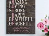 Walmart Birthday Gifts for Him Personalized Mother Spells Love Canvas Available In 2