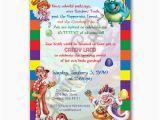 Walmart Personalized Birthday Invitations Personalized Candyland Birthday or Shower Invitation