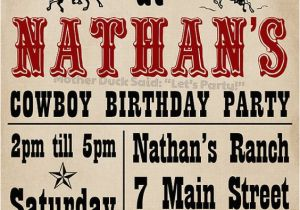 Wanted Birthday Invitation Template Cowboy Invitation Wanted Poster 3 and 5 Pinterest