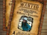 Wanted Birthday Invitation Template Wanted Invitation Portablegasgrillweber Com