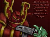 Warhammer Birthday Card Happy Brithday Quinn by Queator On Deviantart