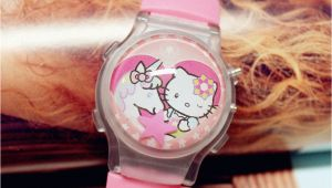 Watch Birthday Girl Online Girl Kid Children Pink Hello Kitty Unicorn Digital Wrist