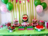 Watermelon Birthday Party Decorations End Of Summer Watermelon Party Say It with Cake