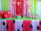 Watermelon Birthday Party Decorations Watermelon Birthday Party Ideas for Your Little Girl 39 S