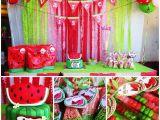 Watermelon Birthday Party Decorations Watermelon Birthday Party Ideas Photo 8 Of 9 Catch My