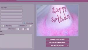 Websites to Make Birthday Invitations for Free Birthday Invitation Websites Free Images Bes with Framed