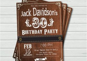 Western Birthday Invitations For Adults Birthdays And Cowboys On Pinterest