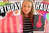 What Should I Get for My 13th Birthday Girl What I Got for My 13th Birthday Haul 2015 Youtube