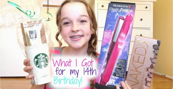 What Should I Get for My 13th Birthday Girl What I Got for My 14th Birthday Youtube