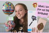 What Should I Get for My 13th Birthday Girl What I Got for My 15th Birthday Youtube