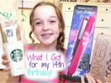 What Should I Get for My 14th Birthday Girl What I Got for My 14th Birthday Youtube