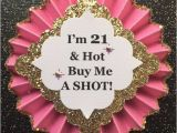 What to Buy for 21st Birthday Girl 21st Birthday button 21st Birthday Pin 21st