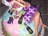 What to Buy for 21st Birthday Girl 21st Birthday Drunk Barbie Cake Twenty Fun