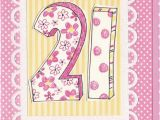 What to Buy for 21st Birthday Girl Dotty 21st Birthday Card Karenza Paperie