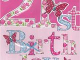 What to Buy for 21st Birthday Girl Large Cards Collection Karenza Paperie