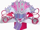 What to Do for 18th Birthday Girl 3d Pop Up Card Happy 18th Birthday Girl Celebration 18