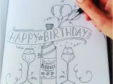 What To Draw On A Birthday Card Happy Cards Drawing At Getdrawings Com Free For