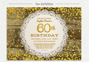 What to Include In A Birthday Invitation 60th Birthday Party Invitations 60th Birthday Party