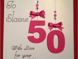 What to Say In A 50th Birthday Card 17 Best Images About 50th Birthday Cards On Pinterest