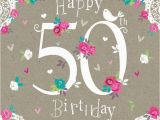What to Say In A 50th Birthday Card Amsbe 50 Birthday Cards 50th Birthday Card Cards Ecard