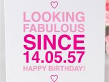 What to Say to A Birthday Girl Personalised Birthday Girl 39 since 39 Card by Megan Claire