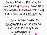 What to Write In A 1st Birthday Card On Your Birthday Inspired Words Greeting Card Blank Inside