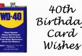 What to Write In A 40th Birthday Card 40th Birthday Wishes Messages and Poems to Write In A