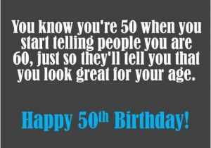 What To Write In A 50th Birthday Card Funny On