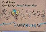 What to Write In A Birthday Card for Best Friend Birthday Card for Best Friends